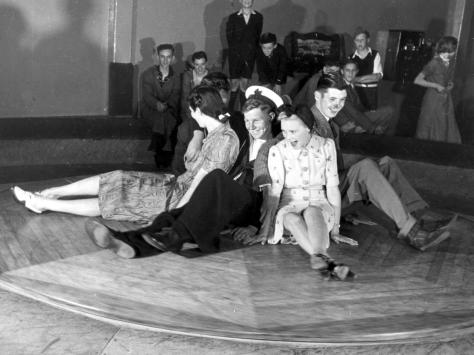The Social Mixer, so-called because revellers were thrown into each others arms, at The Fun House