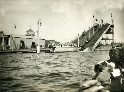 The Water Chute, early 1900s