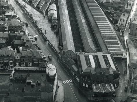 The old Central Station, Blackpool