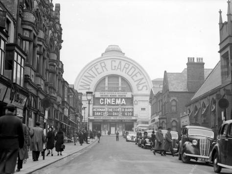 Blackpool Winter Gardens, 1940. Photo: Getty Images