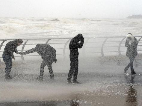 Parts of the country could see weather warnings imposed