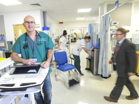 Head of Blackpool Victoria's A&E department, Dr Anthony Kearns.