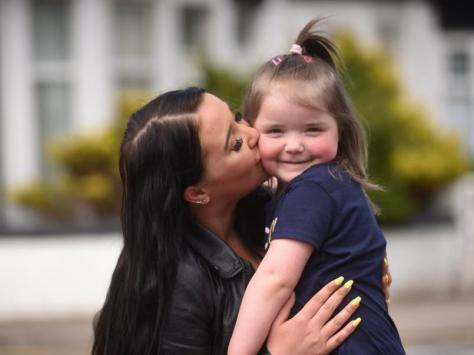 Cleo and her mum Shannon