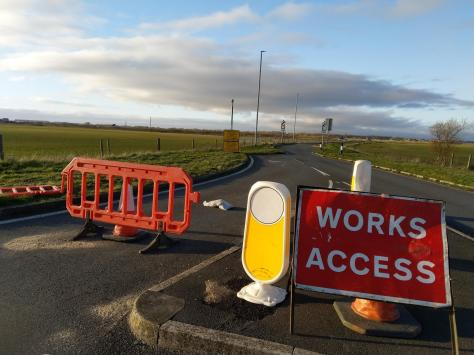 The new road will link Cypress Point, Ansdell, pictured here, with Peel, where the work is set to start