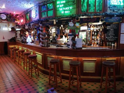 Inside the Don Pepe bar