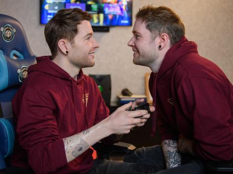 Coming face-to-face with his own waxwork