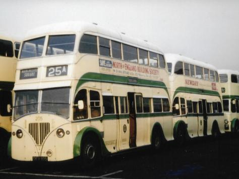 Some of the early designs and bus colour schemes became iconic in Blackpool