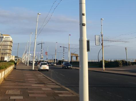 LED bulbs are set to be fitted to Blackpool's street lights