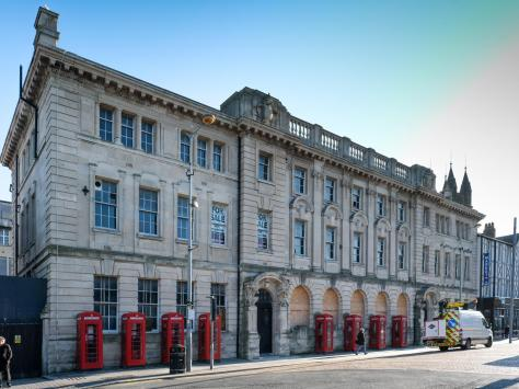 The Grade II listed former Post Office