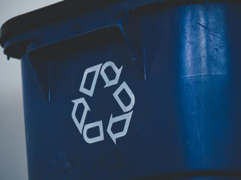 Blue recycling bin collections have been affected by staff self-isolation numbers in Thornton today.