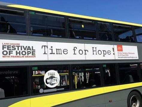 The bus adverts which caused the controversy