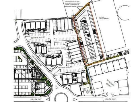 Plans for the car park