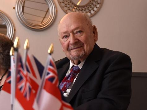 Lt Cdr Derek Scrivener is to finally receive his British Citizen Award