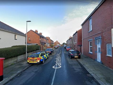 Detectives launched a murder investigation after a man in his 50s died in hospital from multiple stab wounds shortly after a knife attack at a home in Carsluith Avenue, off Canterbury Avenue in Marton at around 8.53pm on Friday (July 23). Pic: Google