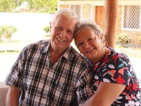 Dave and Sue Hayward