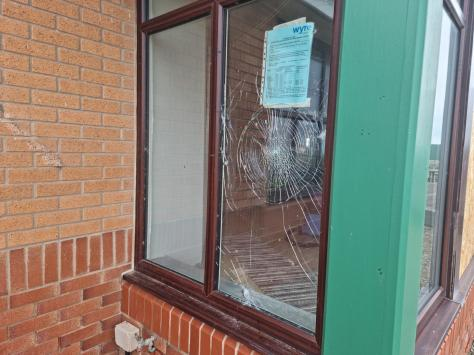 Michael Reynolds, landlord at the Jubilee Park pub in Cleveleys, said yobs have targeted his windows.