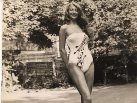 Eden's auntie Jane Prior won Miss Blackpool Queen of the Lights 1980. Pic: Eden Kippax