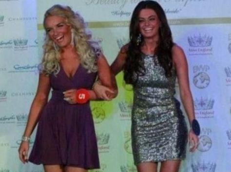 Eden has even competed against her cousin Kendall Rae Knight, where they both took part in Miss Fylde Coast 2013. Pic: Eden Kippax