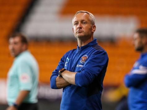 Blackpool boss Neil Critchley