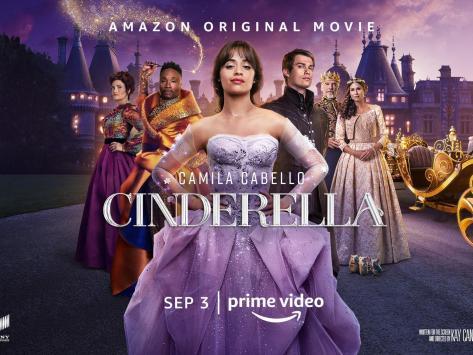 Cinderella premieres on Amazon Prime today