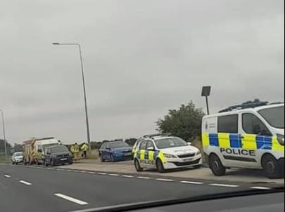 The body of a man in his 20s has been found in woodland off Rossall Lane in Fleetwood today (Friday, September 3)