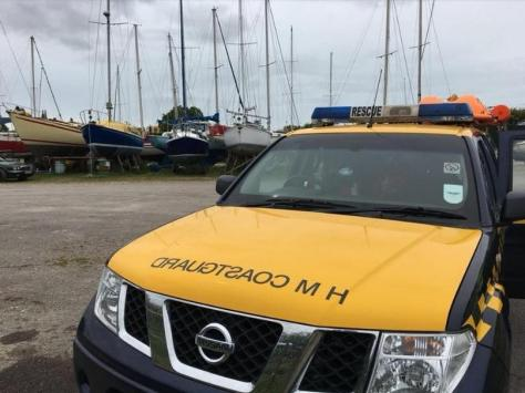 HM Coastguard Fleetwood