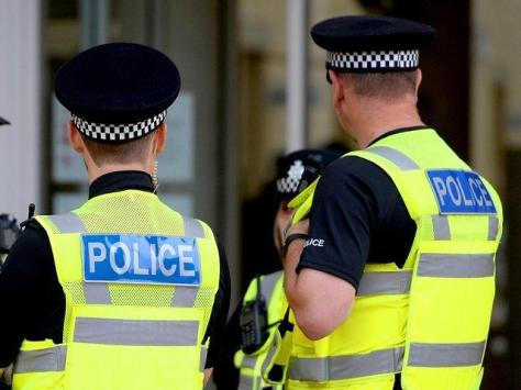 A 24-year-old man has been charged with assaulting three police officers in Blackpool Town Centre at the weekend.