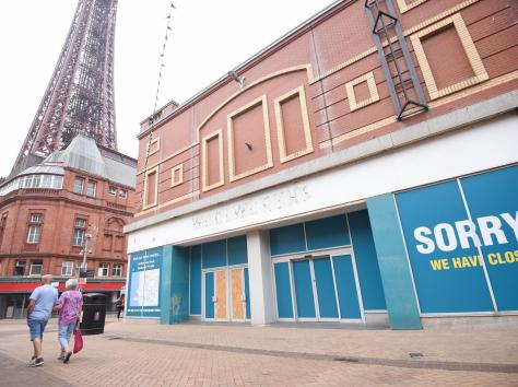 The Poundland on Bank Hey Street has closed down