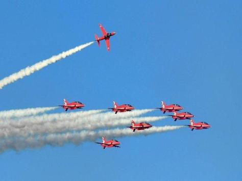 The Red Arrows are returning to Blackpool this weekend (September 11 & 12)