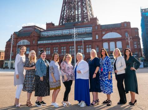 Ten of the 12 businesswomen from the Fylde nominated for awards in this year's EVAs