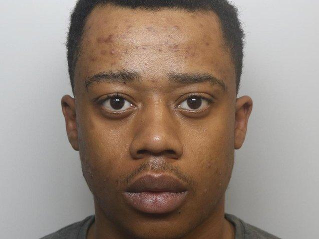 Darnell Anderson-Browne was jailed for four years.