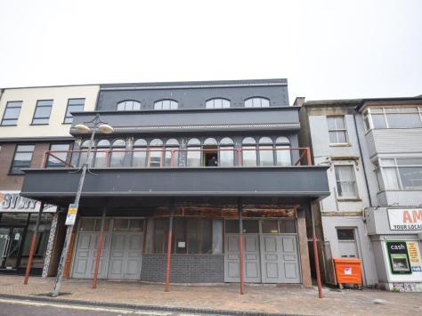 The former Whippet Inn bar on Queen Street