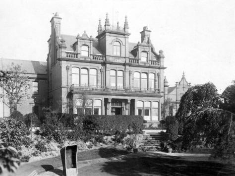 The old Victoria Hospital on Whitegate Drive which opened in August 1894