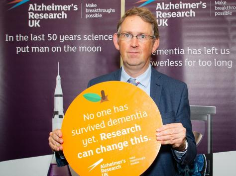 Blackpool North and Cleveleys MP Paul Maynard is supporting more investment in dementia research
