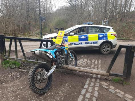 Operation Propulsion will see officers patrolling areas which residents have highlighted as an area of concern, including Boundary Park and the fields adjacent to Lawson Road, tackling the illegal and nuisance use of off-road motorbikes, mopeds, scrambler bikes and quad bikes