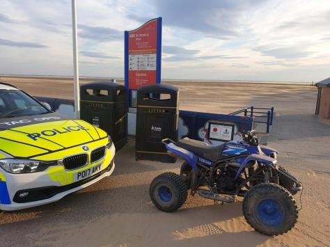 Lancashire Police said officers will use a range of powers to seize bikes that are being used illegally and prosecute those committing offences