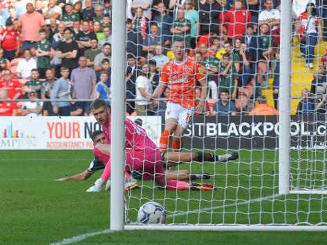 Ian Baraclough was impressed by Lavery's recent strike against Barnsley