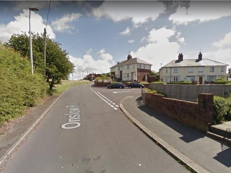 Onslow Road, Layton where the couple were robbed.