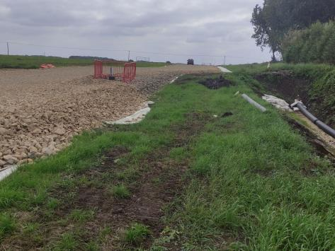 Drainage is a key part of the construction process