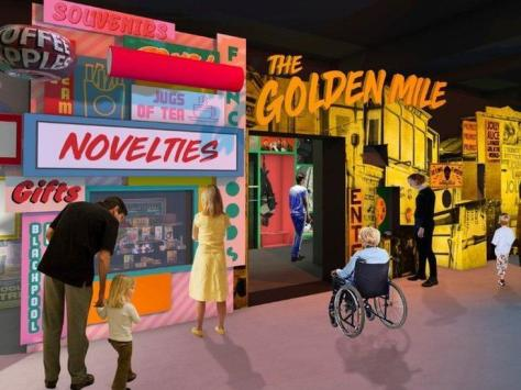 Artist's impression of the Showtown museum