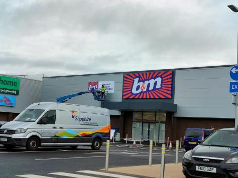 B&M will officially open its new store next to Aldi in Holyoke Avenue on Tuesday, October 26. Pic: James Howarth