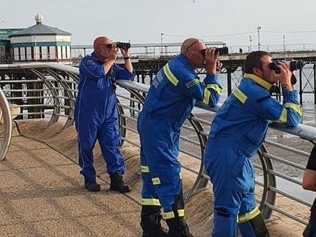 The Coastguards at Blackpool