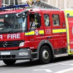 Car Fire Blackpool Causes Explosion