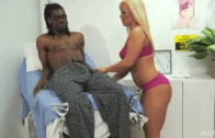 WHITE COUGAR DOCTOR GETS BBC