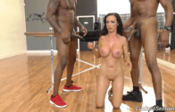 NIKKI BENZ FUCKED BY TWO BLACK COCK WHILE YOUR BOYFRIEND SEE HER