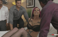 ANNA BELL PEAKS SEXY DP SQUIRT