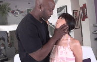 ASIAN GIRL FUCKS A BLACK GUY