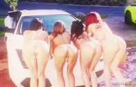 KIRSTEN PRICE, MADISON IVY, RACHEL STARR AND MONIQUE ALEXANDER