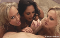 MY FRIEND'S HOT MOM – AVA , BRANDI AND JULIA