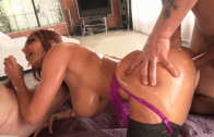 AVA ADDAMS FUCKED BY TWO BIG COCKS